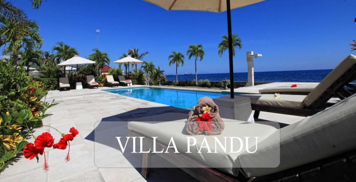 Villa Pandu Zwembad aan Zee
